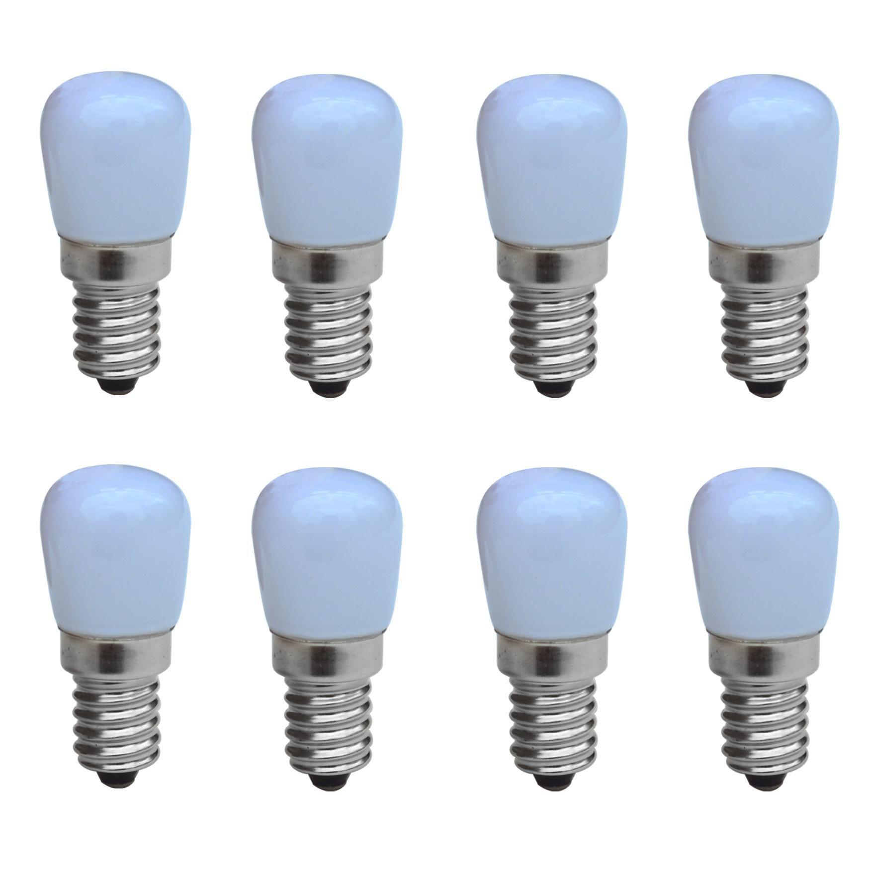 Jiawen 8pcs Lot Refrigerator Led Light Mini Bulb 220v Bright Lamp For Fridge Us 12 60 Bright Lamp Crystal Chandelier Lighting Led Lights