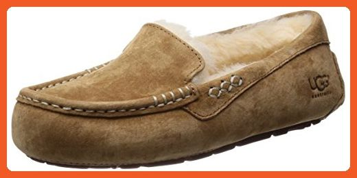 1d86f46e2b7 UGG Women's Ansley Moccasin, Chestnut, 8 B US - Loafers and slip ons ...