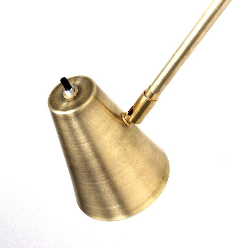 Brass Wallace lamp
