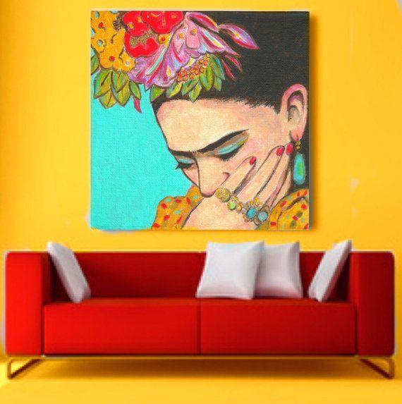 Photo of Mexikanische Kunst, Druck, Leinwand, bereit zum Aufhängen, Ritratto, Volkskunst, Malerei, Diego Rivera, Tag der Toten, Poster, groß
