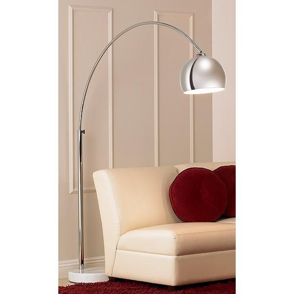 Polished Chrome 67-Inch-W George Kovacs Arc Floor Lamp | Buy More ...