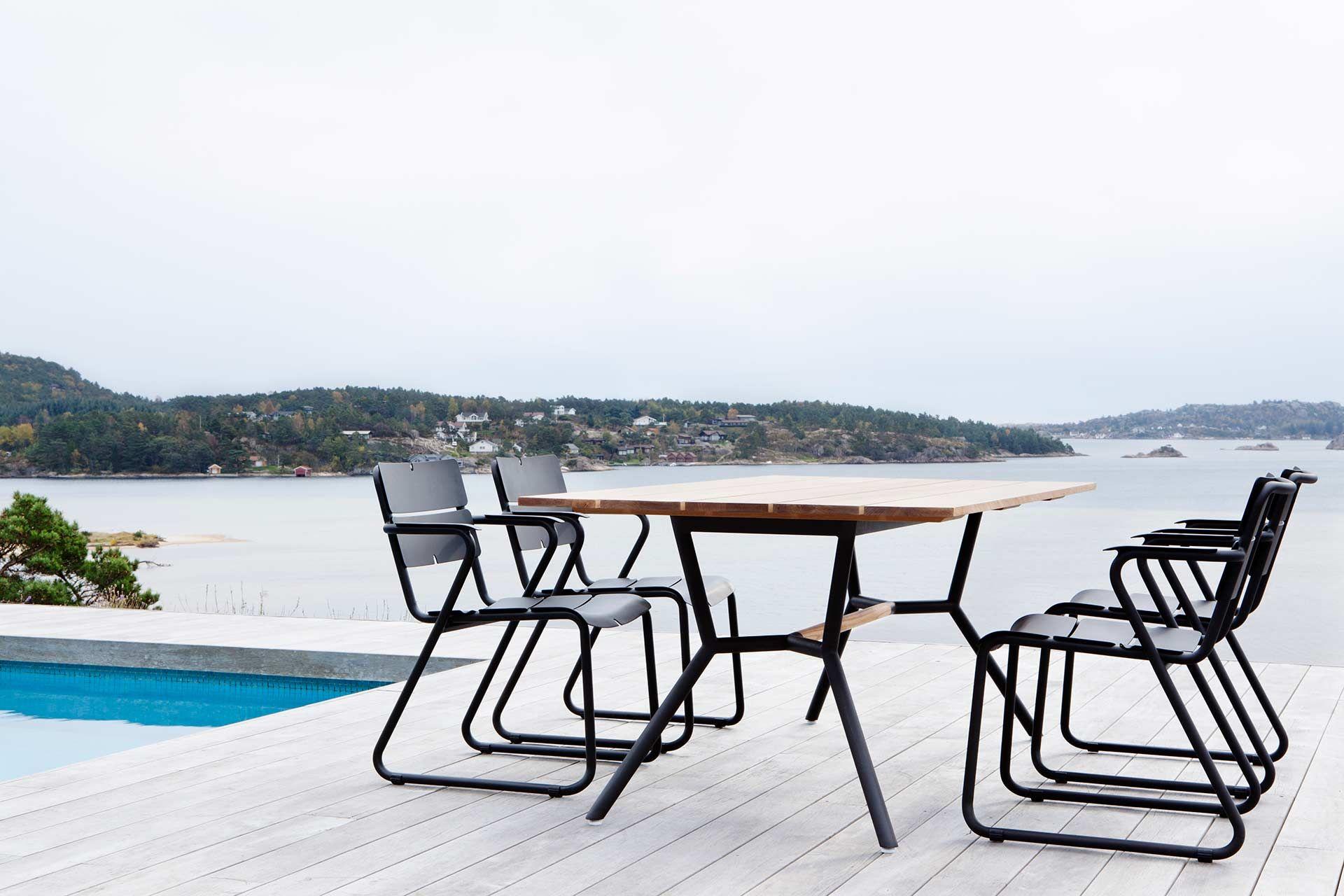 Hochwertige Aluminium Stuhle Aus Der Oasiq Corail Serie Besonders