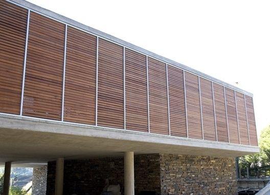 casa del sol zapallar producto cortasoles de madera woodbrise programa casa