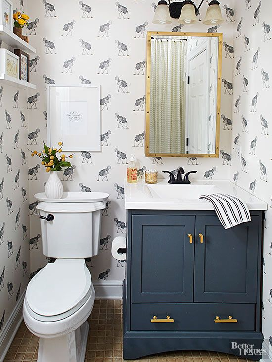 When Topped With A Crisp White Counter And Oil Rubbed Bronze Hardware This Modest Small Bathroom Vanity Looks Much More Expensive
