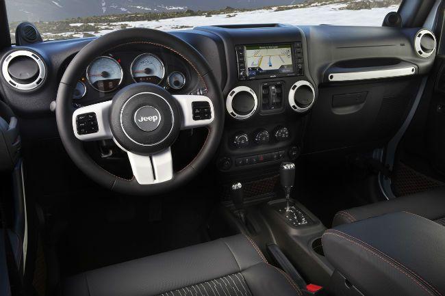 2016 Jeep Liberty Interior