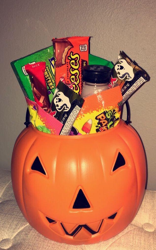 Spooky basket for Halloween
