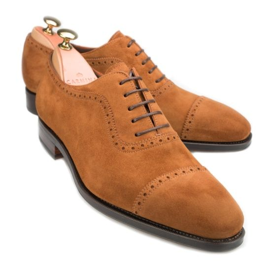 5b21bfec788f Shop carminashoemaker.com for our 80406 adelaide in tobacco suede and other Men's  Oxfords and more Shoes.