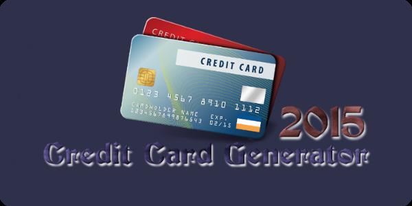 Credit Card Number Generator [CVVExpiration Date Cards
