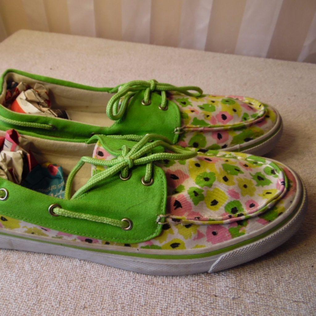 Blue Fin Scuttle Women'S Canvas Shoes Size 10