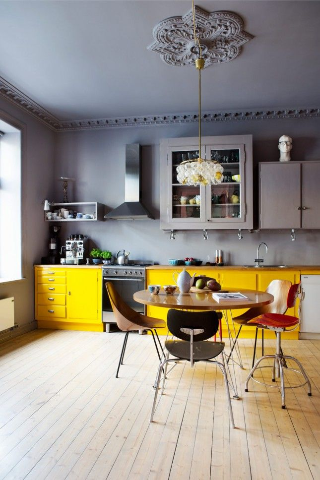 Best 15 Bright Yellow Kitchens That Will Make You Smile 640 x 480