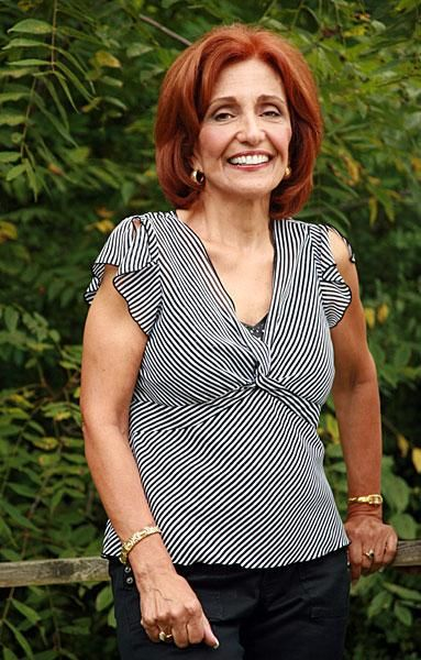 Mature red hair woman
