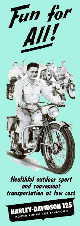 Harley Davidson 125 - fun for all