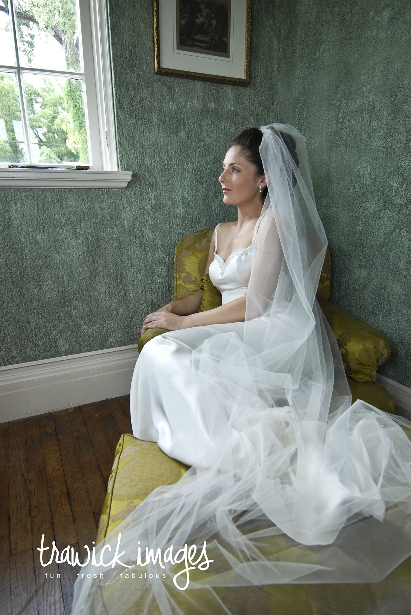 Peaceful image during a wedding in Tulsa at Dresser Mansion in Tulsa ...