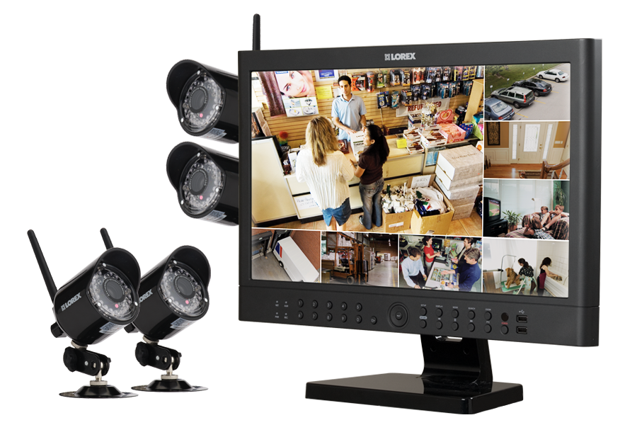 wireless home security cameras Wireless security system