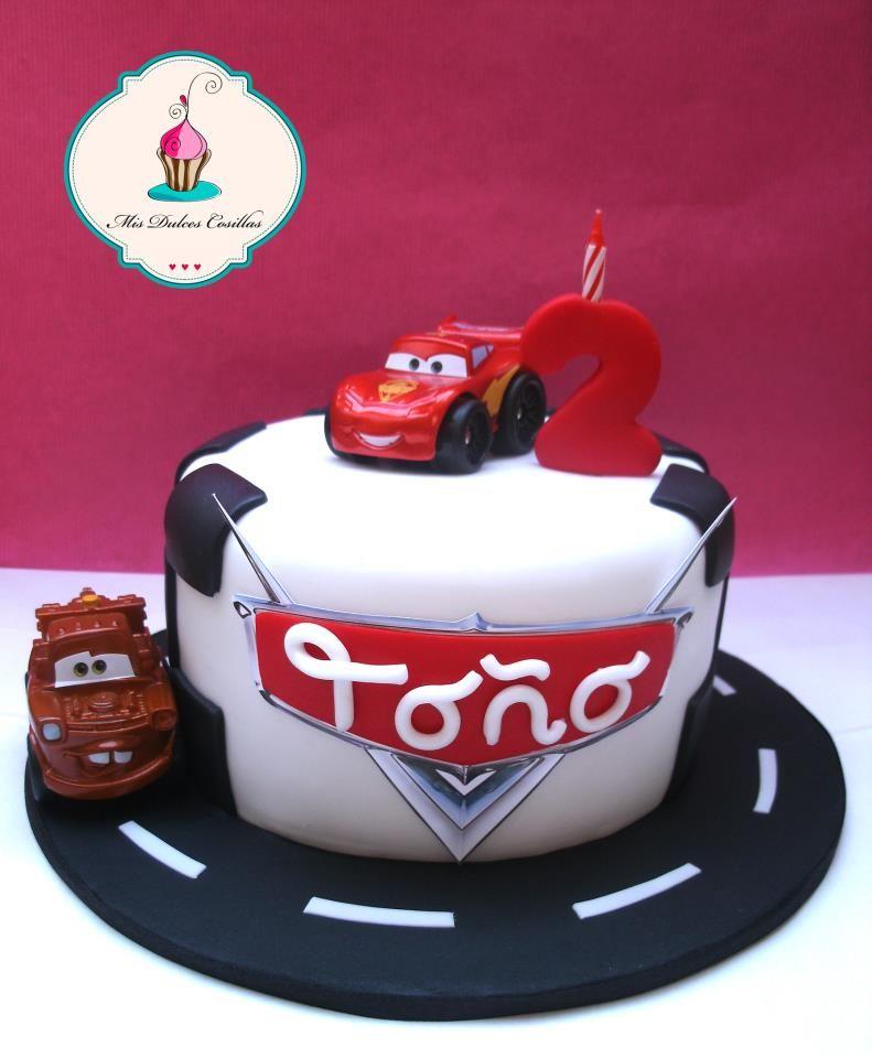 tarta de cumpleaos de cars para too