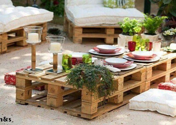gartenmöbel selfmade | dream home ♡ | pinterest | pelz, garten, Garten und Bauen