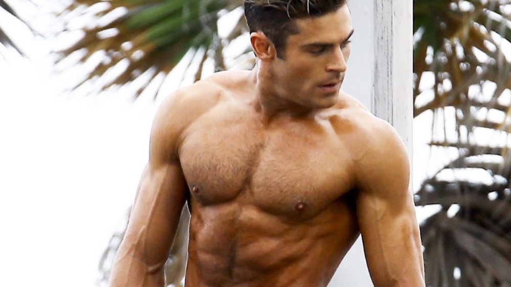 Provocative Wave for Men: Zak Efron caught nude. Can you