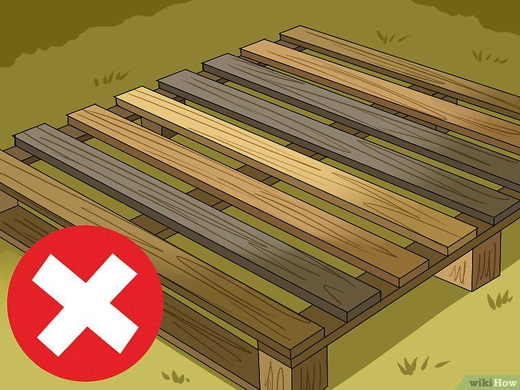 How To Clean Wood Pallets 8 Steps With Pictures Cleaning Wood Wood Pallets Painting On Pallet Wood