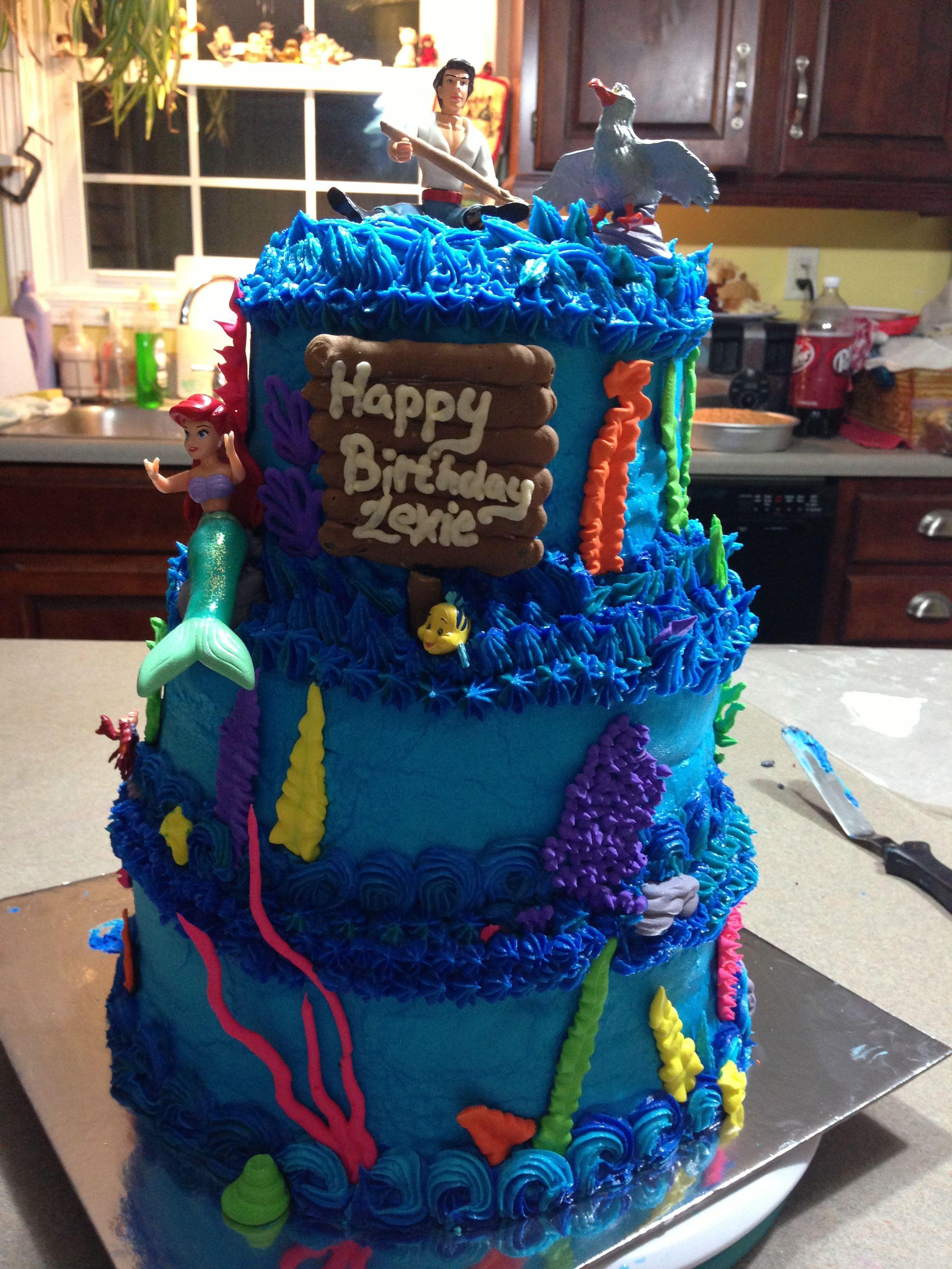 Little mermaid cake little mermaid cakes mermaid cakes