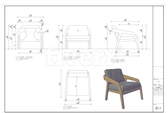 Prepare Furniture Woodworking Joinery Cad Shop Drawing Furniture