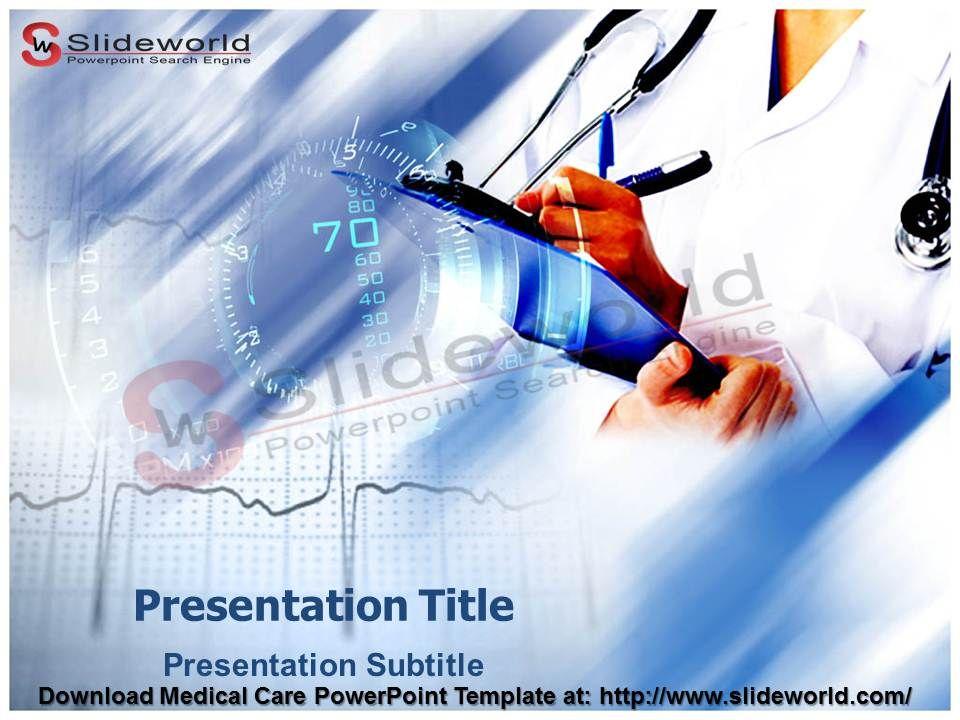 Medical care powerpoint template slideworld medical medical care powerpoint template slideworld toneelgroepblik Image collections