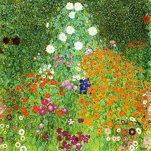 Garden Jewels By Gustav Klimt 1862 1918 Klimt Art Klimt Klimt Flower Garden