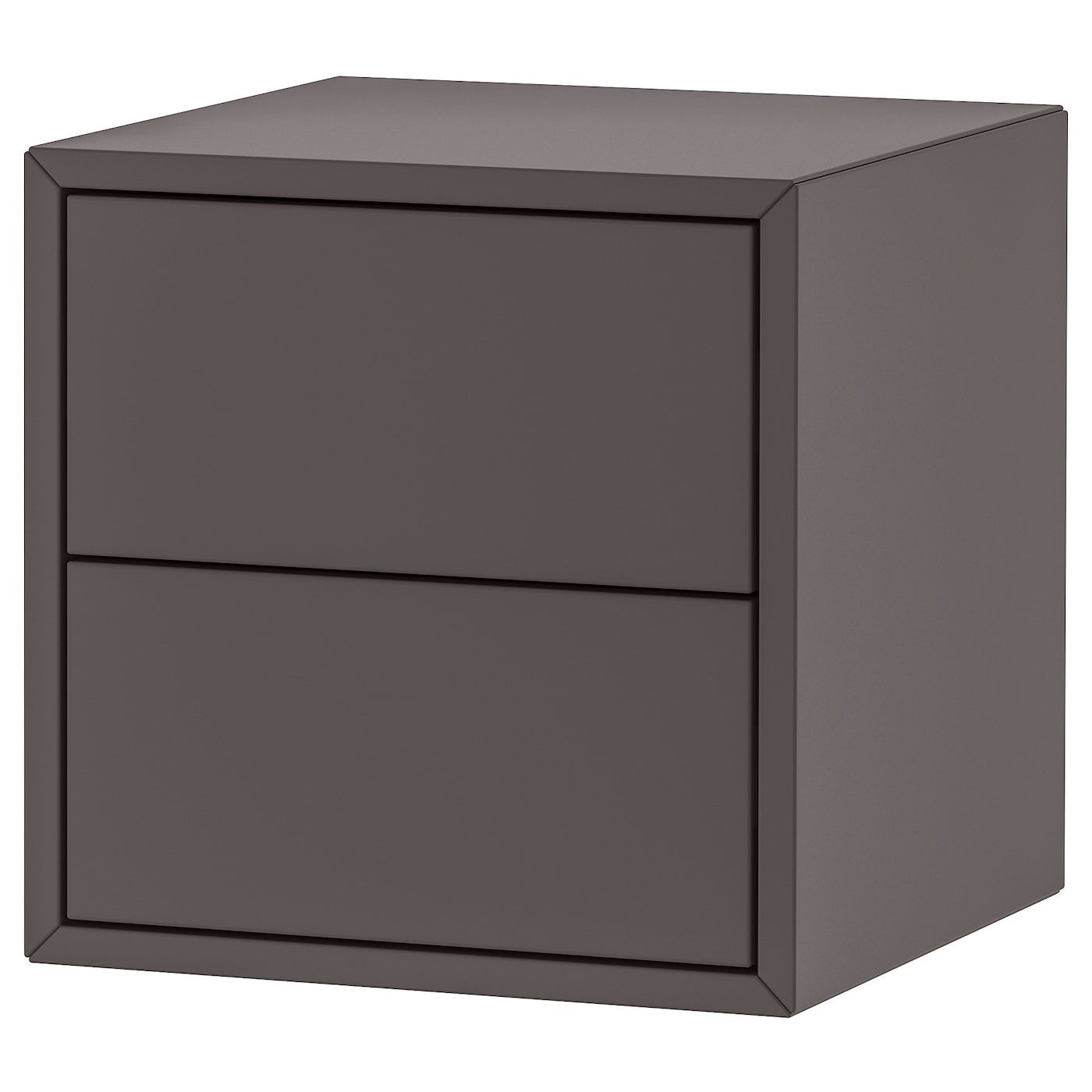 Eket Cabinet With 2 Drawers Dark Gray 13 3 4x13 3 4x13 3 4 In 2020 Mit Bildern Schubladen Wandschrank Schrank