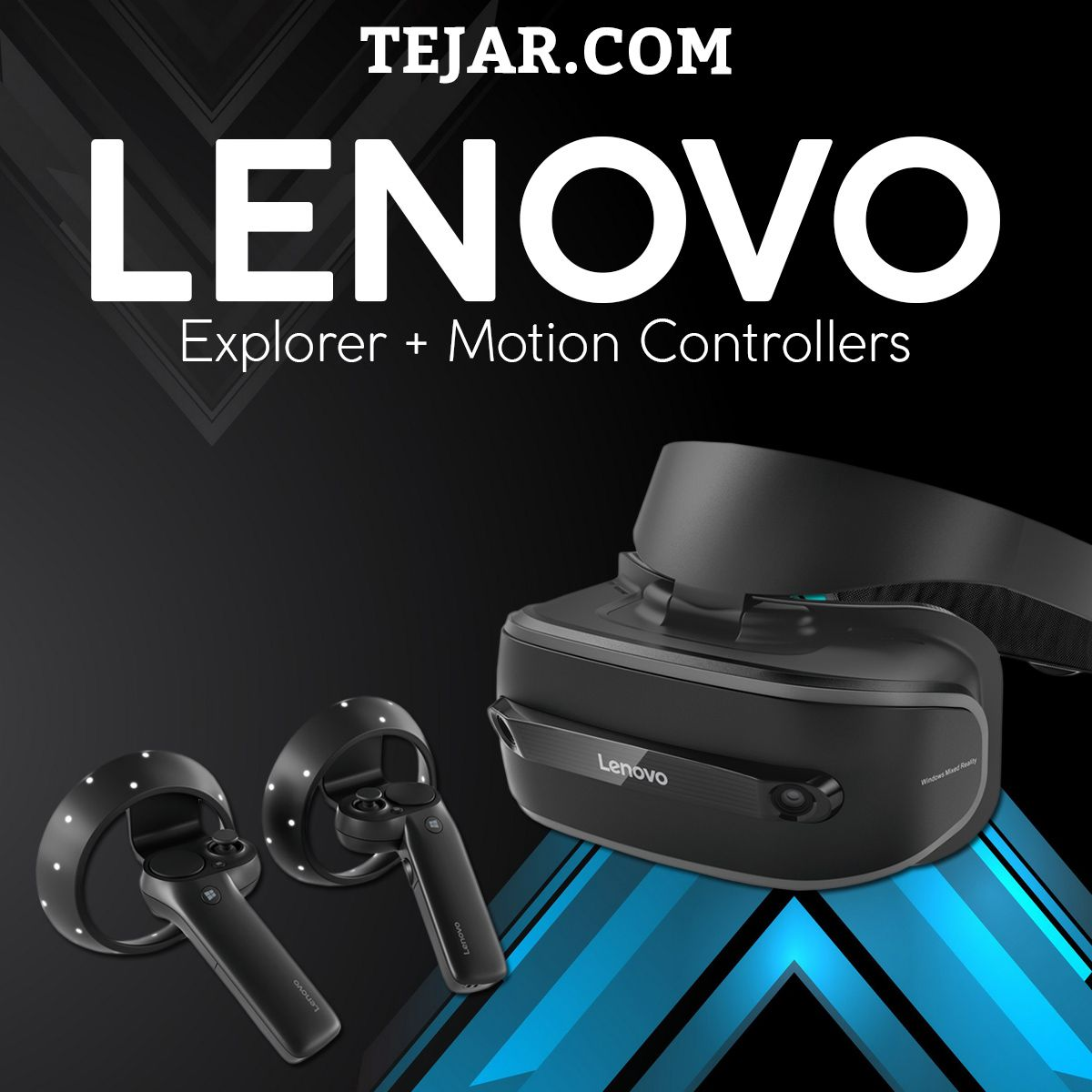 Lenovo Explorer With Motion Controllers Lenovo Motion Gaming Gear
