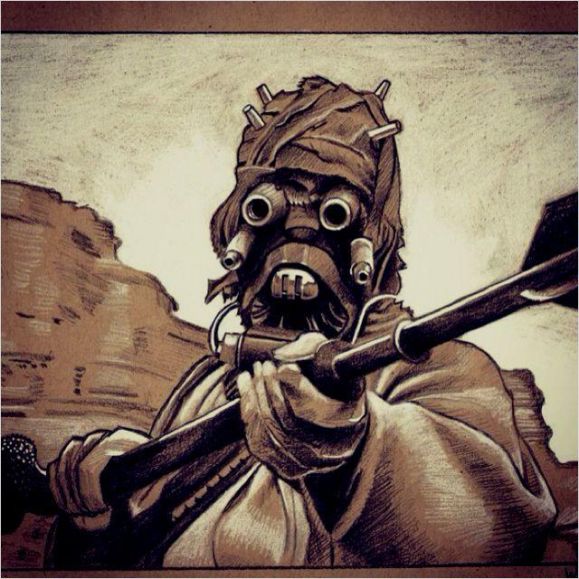 Tusken Raider Tatooine Tusken Raiders Pinterest Tusken