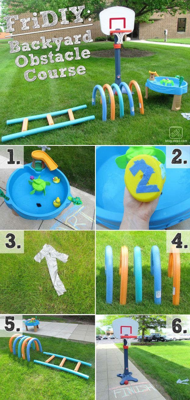 Backyard Obstacle Course Step2 Blog Kids Obstacle Course Backyard Obstacle Course Outdoor Kids Diy backyard obstacle course for adults
