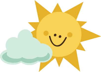 sun with cloud svg file for scrapbooking sun svg file cloud svg file rh pinterest com Sun with Shades Clip Art sun and clouds clipart black and white