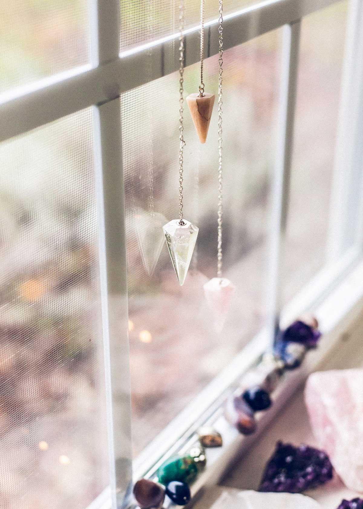 Moonstone Pendulum Ornament