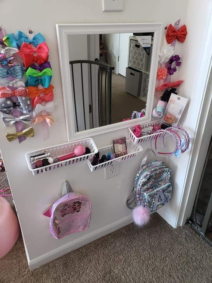 """momWIN We really didnt have room for a """"vanity"""" but i did"""