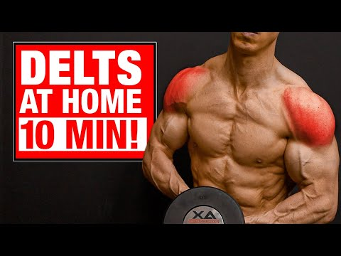 1 10 min  home shoulder workout sets and reps included