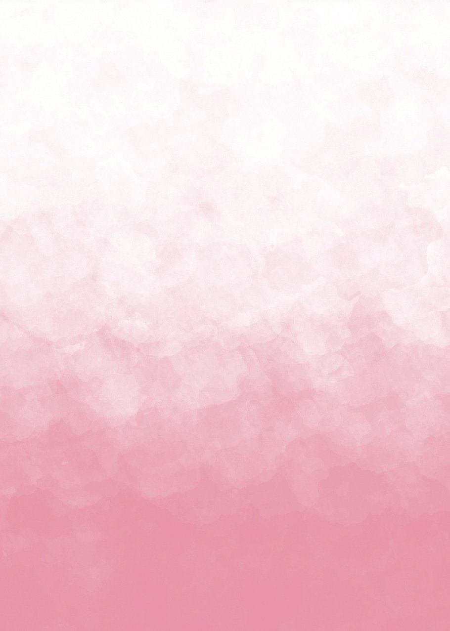 Pink ombre watercolor