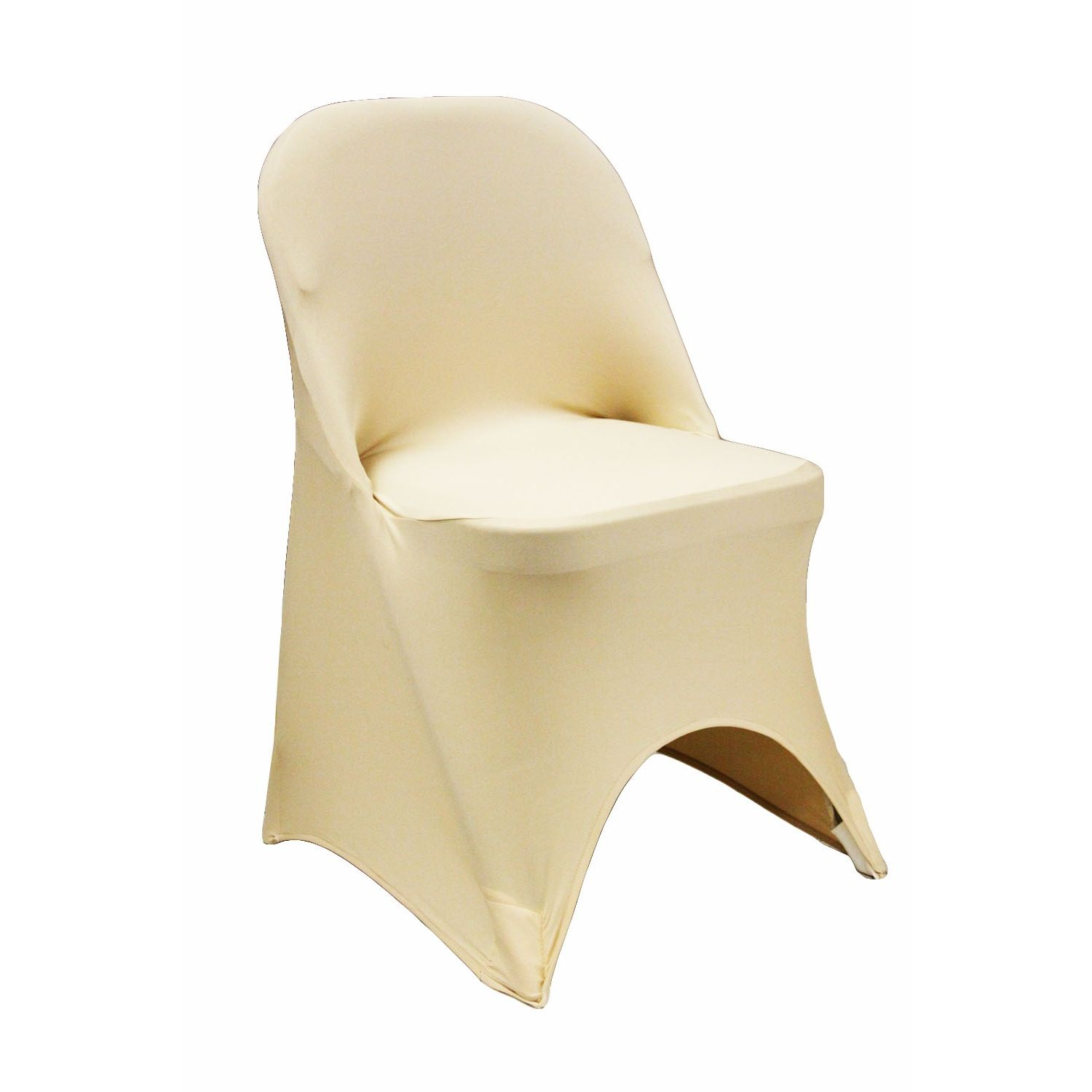 Folding Spandex Chair Cover Champagne Folding Chair Covers