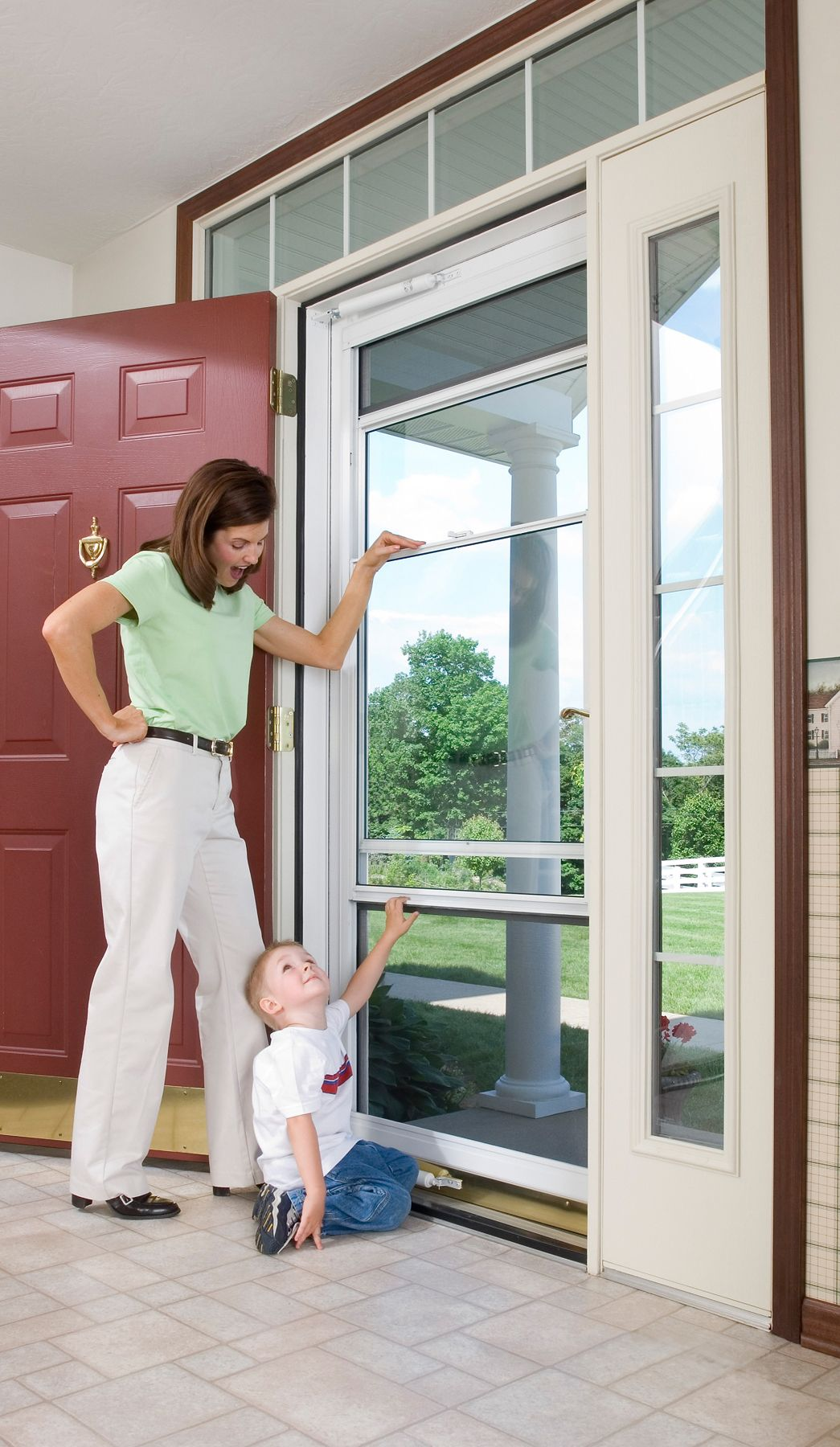 Having A Provia Spectrum Storm Door Installed On Your Home Allows