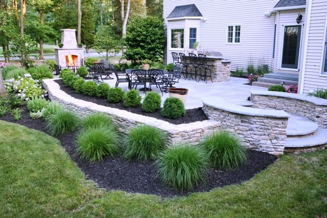 New Jersey Raised Patio Installer Contractor Stone Patios Patio
