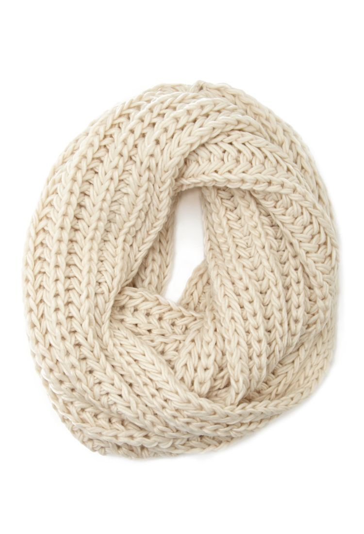 Chunky Knit Infinity Scarf | FOREVER21 - 1000100115 | n e ...