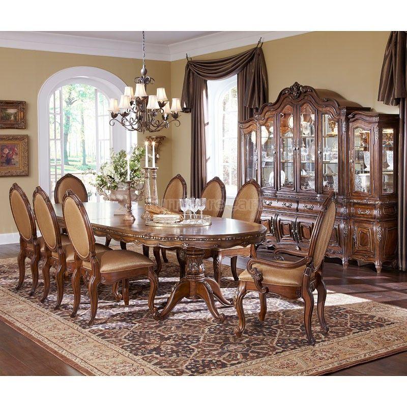 Lavelle Melange Palatial Oval Dining Room Set Dining Room Design Dining Room Table Dining Room Furniture