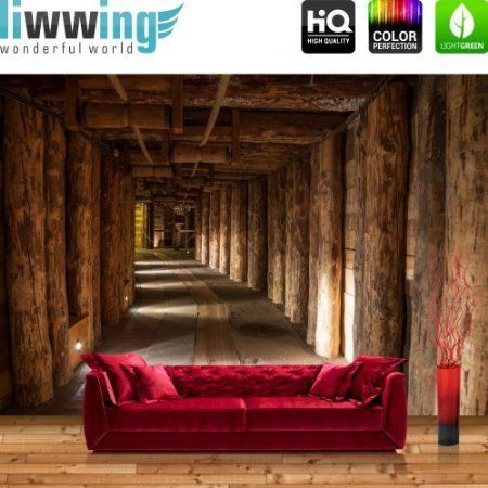 vliestapete fototapete vlies tapete bergwerk slazbergwerk tunnel 3d stollen 400x280cm. Black Bedroom Furniture Sets. Home Design Ideas