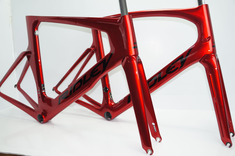Dean And Noah Sl Candy Red Metallic Black Bike Builder
