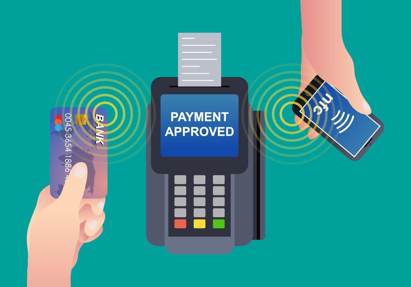 NFC Payment Vector Обои, Логотип