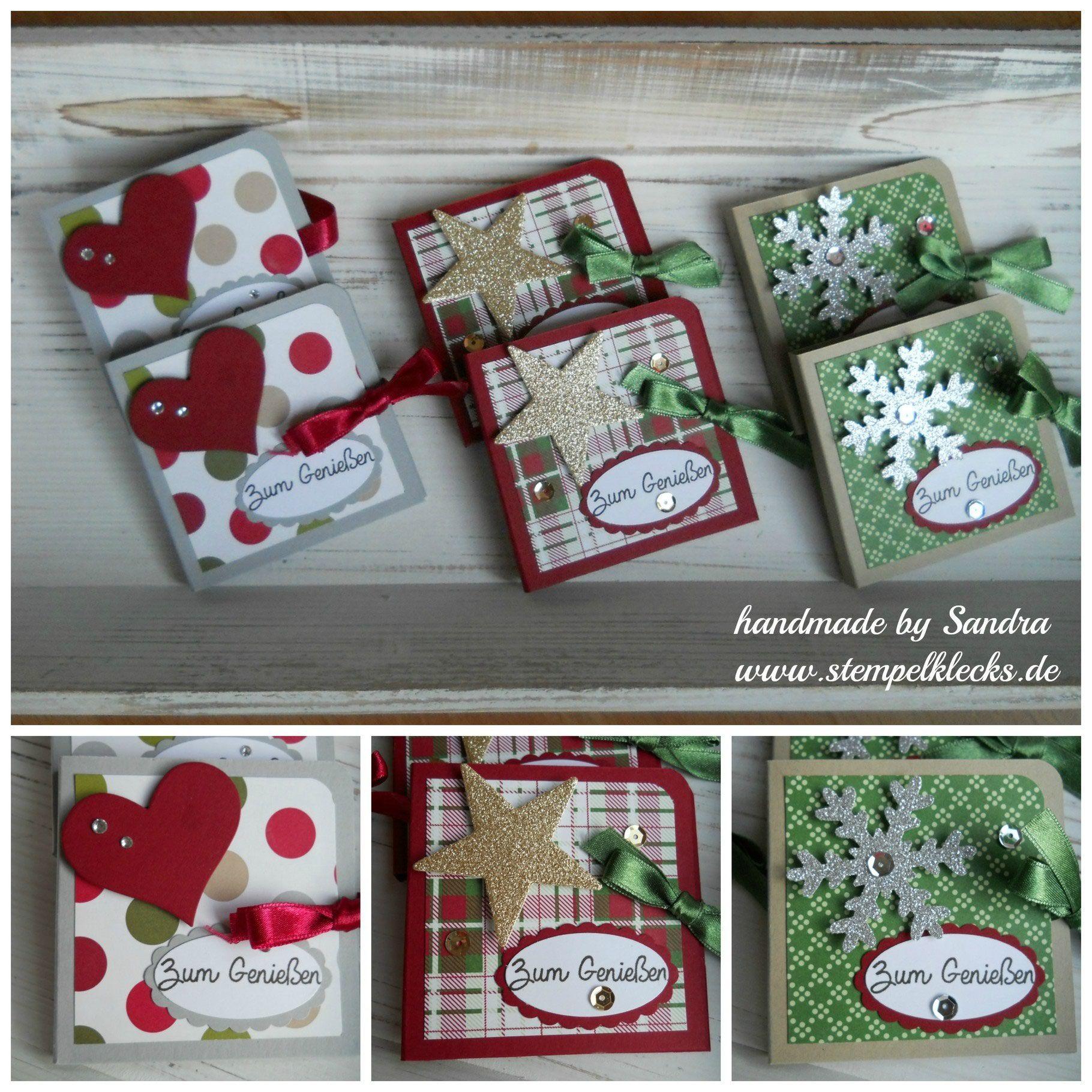 teebeutel b chlein stamp stampin up christmas. Black Bedroom Furniture Sets. Home Design Ideas