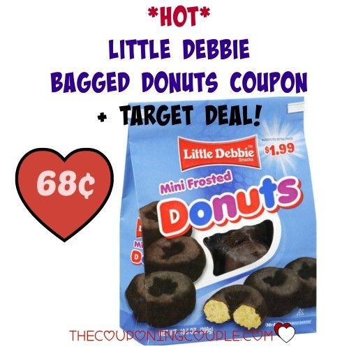 Hot Little Debbie Bagged Donuts Coupon Target Deal Debbie Snacks Frost Donuts Mini Donuts