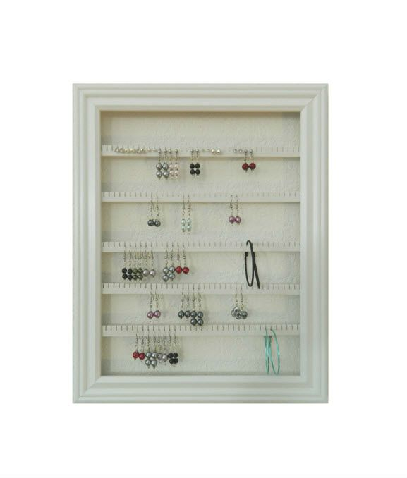 Earring Holder - Holds 100 pair - Available in 8 Colors - 10x13 ...
