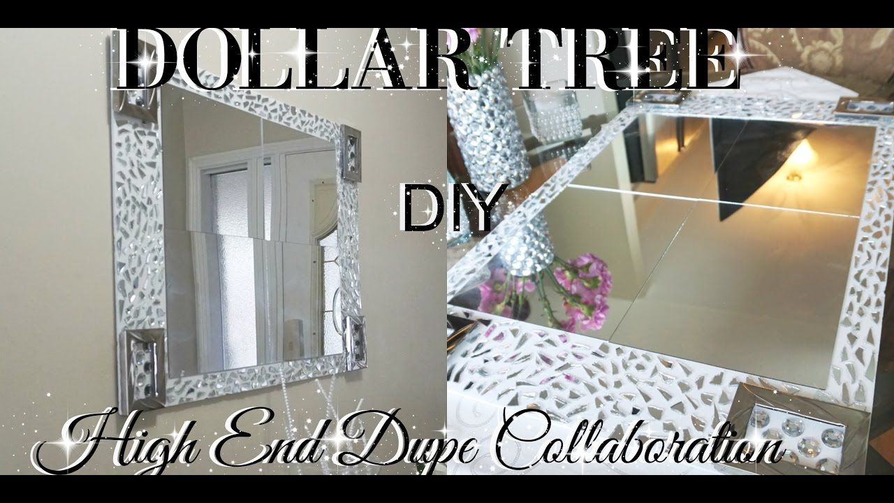 Diy High End Dupe Wall Art Home Decor Collaboration Hosted By Design On Diy Mirror Wall Decor Diy Dollar Tree Decor Mirror Frame Diy