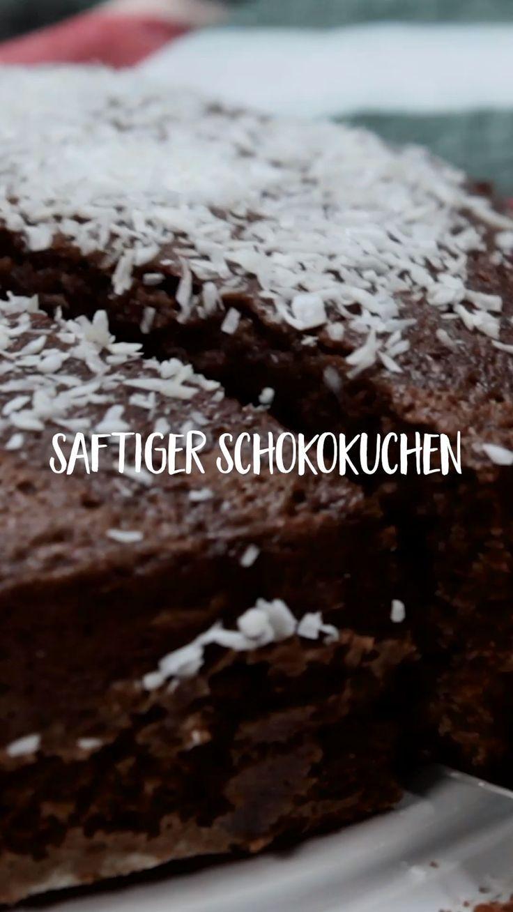 Saftiger Schokoladenkuchen – Schokolade – die Rezepte für alle, die Schokolade lieben!