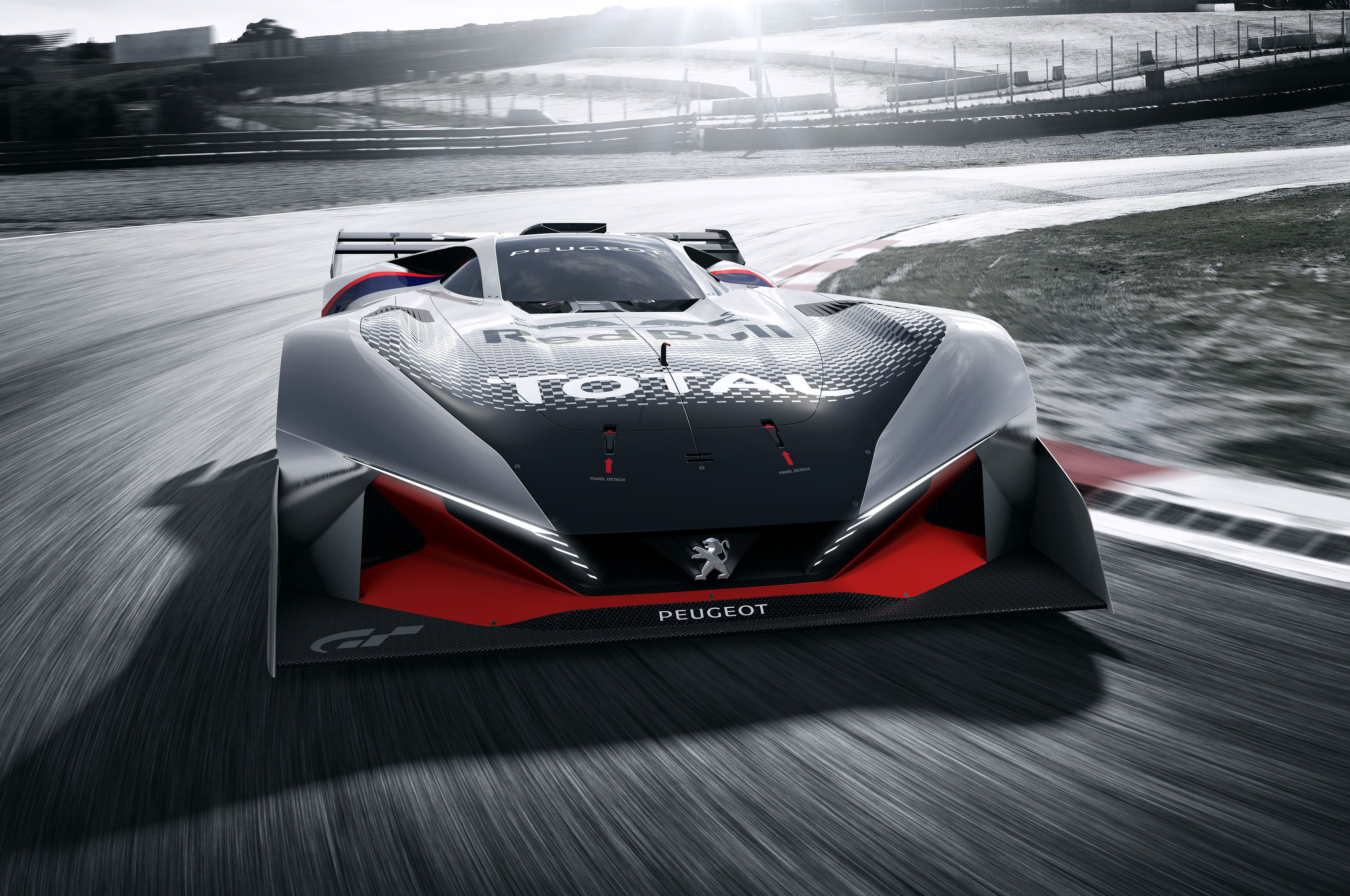 News Peugeot L750 R Hybrid Vision Coming to Gran Turismo