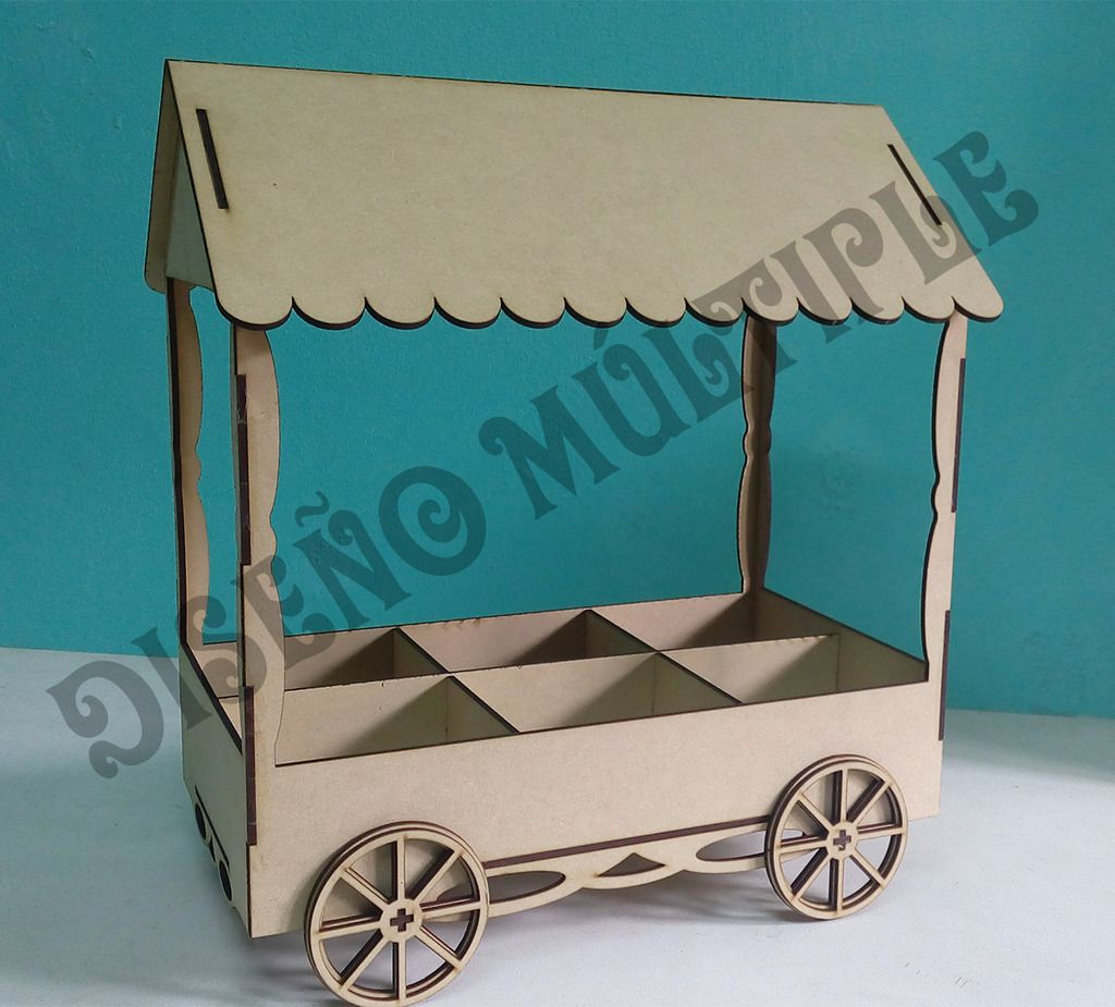candy cart vector template plans bar cnc